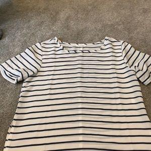 Woman's striped blouse